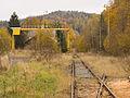 Malá Morávka, nádraží, nákladiště od zarážedla.jpg