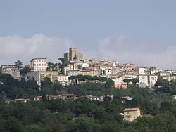 View of Manciano