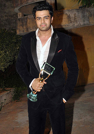Manish Paul - Maniesh at the Indian Telly Awards in 2012