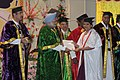 Manmohan Singh presented degree to the students at the third convocation of the Jawaharlal Institute of Postgraduate Medical Education and Research (JIPMER), in Puducherry. The Union Minister for Health and Family Welfare (1).jpg