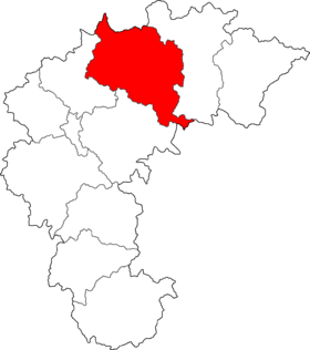 Location of Chungju