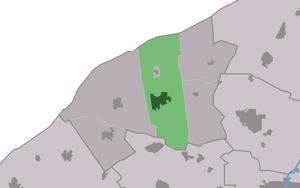 Sint Annaparochie - Image: Map NL Bilt Sint Anne