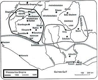 Wassoulou Empire - Wassoulou Empire at its peak