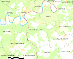 Map commune FR insee code 12256.png