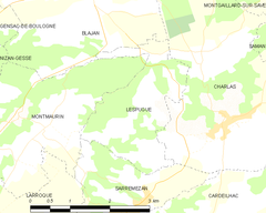Map commune FR insee code 31295.png