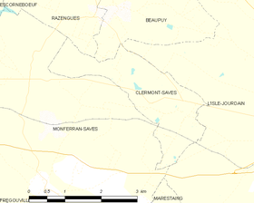 Map commune FR insee code 32105.png