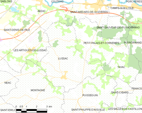 Map commune FR insee code 33261.png