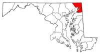 Map of Maryland highlighting Cecil County.png