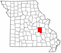 Map of Missouri highlighting Crawford County.png