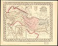 Map of Persia, Turkey in Asia - Afghanistan, Beloochistan. LOC 2013593018.jpg