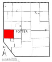 Quận, Pennsylvania làm nổi bật Thị trấn Keat