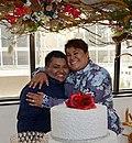 María Alexandra Chávez y Michelle Pamela Avilés - Primer matrimonio entre dos mujeres en Ecuador.jpg