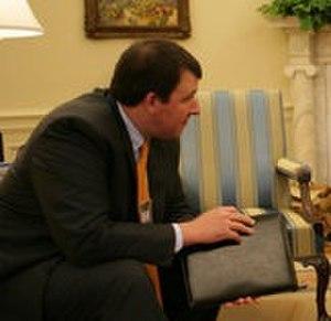Marc Thiessen - Thiessen helps prepare President George W. Bush's speech on the Iraq War on September 13, 2007.