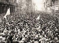19 de septiembre de 1945; la gran Marcha de la Constitución y la Libertad, opositora