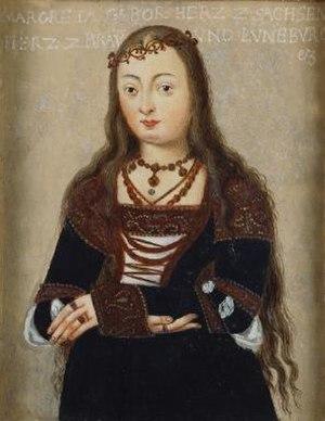 Margaret of Saxony, Duchess of Brunswick-Lüneburg - Margarete of Saxony, Duchess of Brunswick-Lüneburg