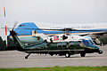Marine One taxis past Air Force One in preparation for its departure from RAF Fairford, England, Sept 140903-F-UE958-232.jpg