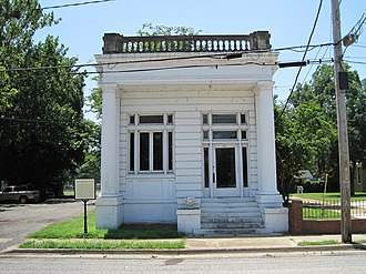 National Register of Historic Places listings in Crittenden County, Arkansas - Image: Marion AR 26 Crittenden Bank and Trust Company