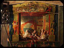 Teatrino delle marionette, anni '50