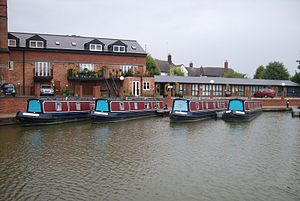 Market Harborough - Canal basin