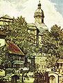 Markt mit Schloss Sondershausen, Curt Mücke.jpg
