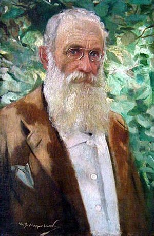 Ivan Mrkvička - Self-portrait (1926)