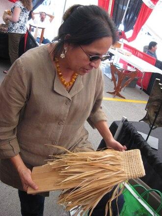 Winnebago Tribe of Nebraska - Image: Martha gradolf hochunk