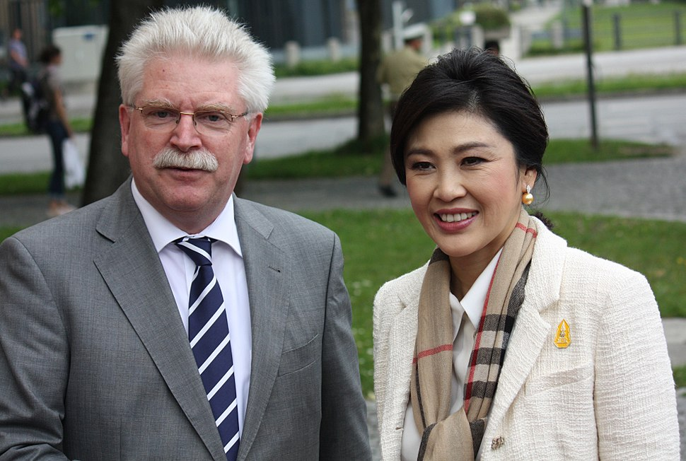 Martin Zeil und Yingluck Shinawatra 3783