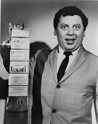 Marty Allen - Allen in 1960