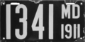 Maryland license plate, 1911.png