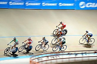 Giant Bicycles - Giant banners in Mashhad Samen Velodrome