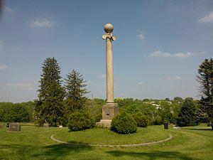 Pine Hill Cemetery (Davenport, Iowa) - Masonic Memorial