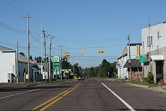 Rockland Township, Michigan - Unincorporated community of Mass City