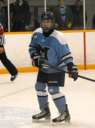 Vincent Massey Secondary School - Massey boys player during 2014 playoffs