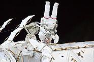 Mastracchio During STS-131 EVA 1