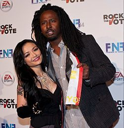 Matchstik And Tila Tequila On The Red Carpet.jpg