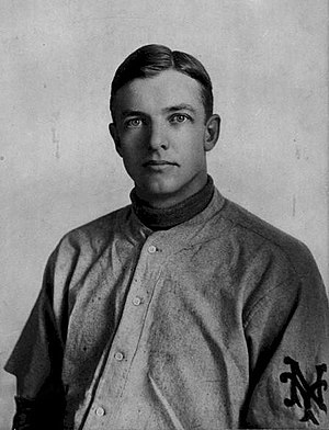 Mathewson in NY Giants uniform