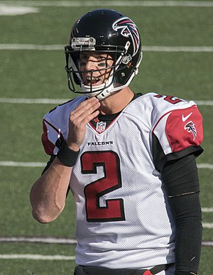 Super Bowl LI - Falcons quarterback Matt Ryan was named the 2016 regular season MVP.