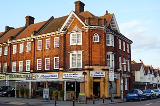 Norbury District of South London, UK