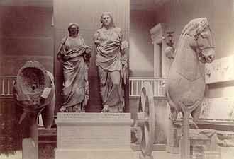 The Mausoleum of Halicarnassus Room, 1920s Mauso03.JPG