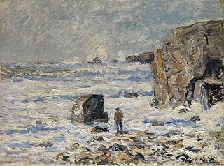 Stranger on the Breton Coast
