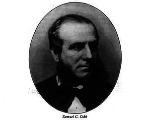 Samuel C. Cobb - Image: Mayor SC Cobb