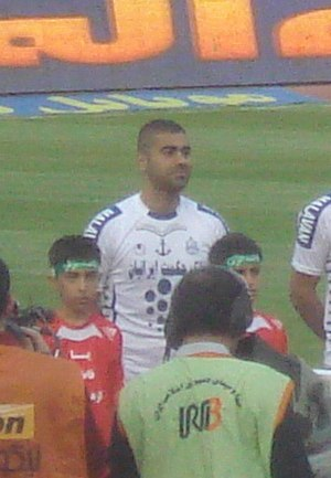 Maziar Zare - Zare before a match against his former side, Persepolis in Azadi Stadium