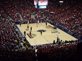 McKale Center - Image: Mc Kale Center (Upper Deck)