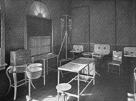 McKinley operating room