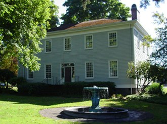 Fort Vancouver National Historic Site - Image: Mcloughlin house exterior