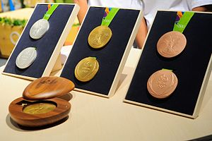 2016 Summer Olympics - The 2016 Summer Olympics medals