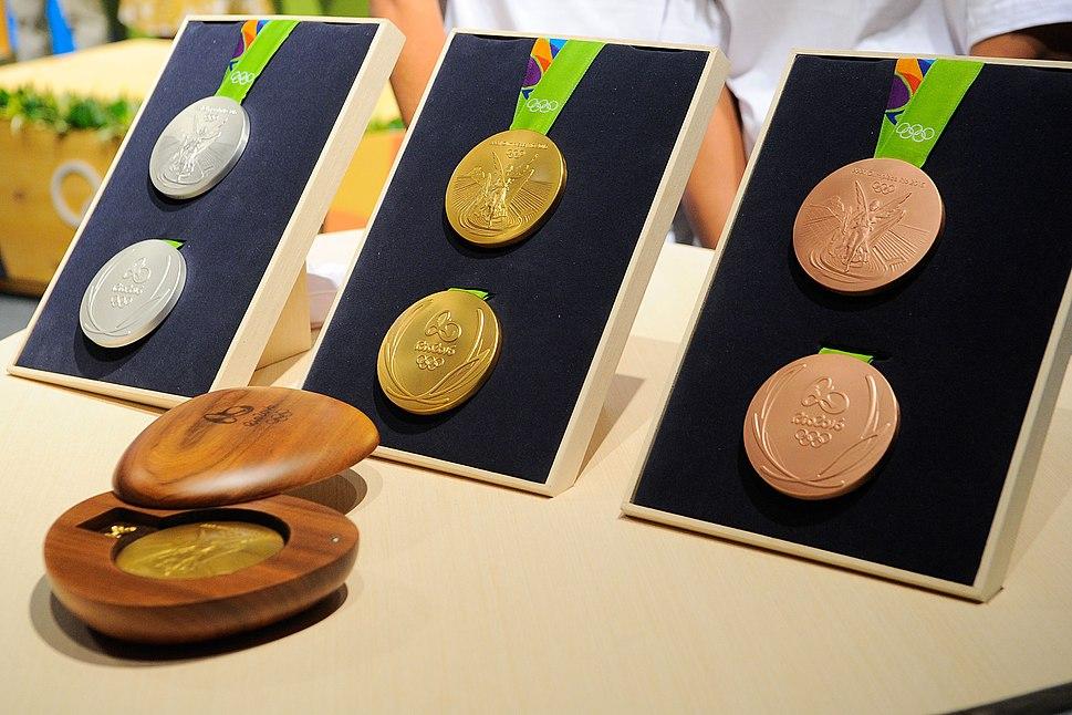 Medalhas Rio 2016 (2)