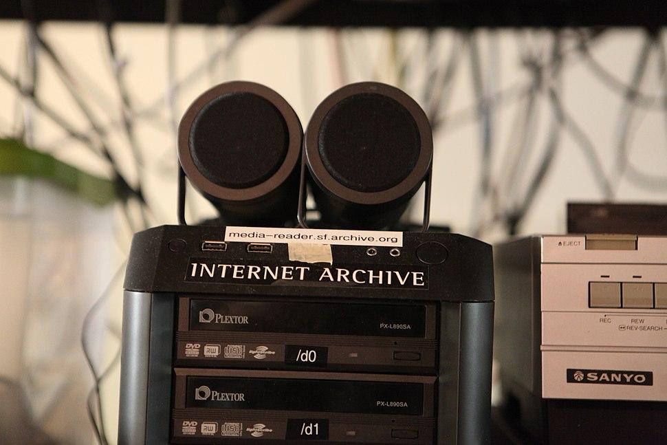 Media reader at Internet Archive