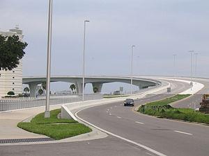 Clearwater Memorial Causeway - Image: Memorial Causeway 1