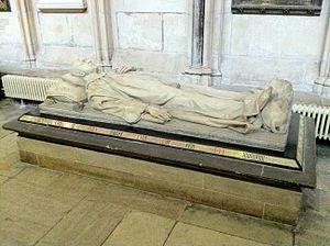 Joseph Bentley Leyland - Leyland's effigy of Stephen Beckwith, in York Minster
